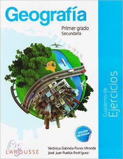GEOGRAFIA 1 CUADERNO DE EJERCICIOS SECUNDARIA