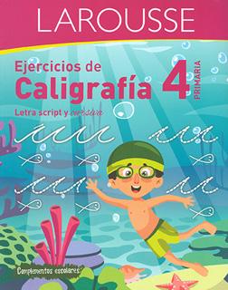EJERCICIOS DE CALIGRAFIA 4 PRIMARIA