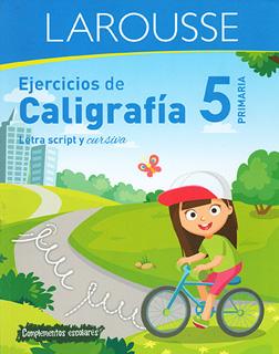 EJERCICIOS DE CALIGRAFIA 5 PRIMARIA