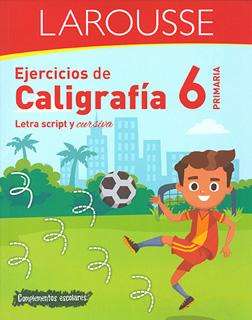 EJERCICIOS DE CALIGRAFIA 6 PRIMARIA
