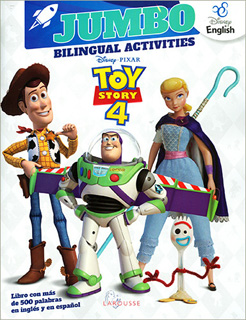 JUMBO BILINGUAL ACTIVITIES TOY STORY 4