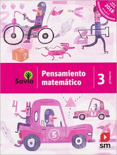 PENSAMIENTO MATEMATICO 3 PRIMARIA (SAVIA)