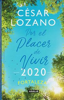 LIBRO AGENDA POR EL PLACER DE VIVIR 2020...