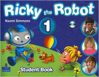 RICKY THE ROBOT 1 STUDENT BOOK (INCLUYE CD)