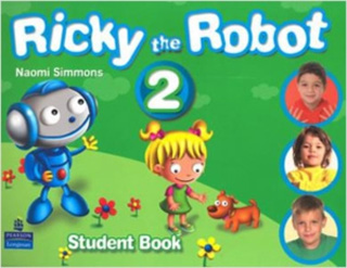 RICKY THE ROBOT 2 STUDENT BOOK (INCLUDE CD)