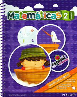 MATEMATICAS 2 PRIMARIA ESPIRAL DE NUMEROS...