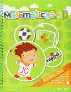MATEMATICAS 3 PRIMARIA ESPIRAL DE NUMEROS...