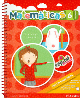 MATEMATICAS 6 PRIMARIA ESPIRAL DE NUMEROS (NUEVA EDICION)