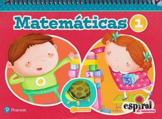 MATEMATICAS 1 PREESCOLAR ESPIRAL DE NUMEROS