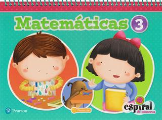 MATEMATICAS 3 PREESCOLAR ESPIRAL DE NUMEROS