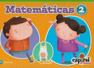 MATEMATICAS 2 PREESCOLAR ESPIRAL DE NUMEROS