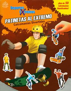 CALCOMANIAS DIVERTIDAS: PATINETAS AL EXTREMO