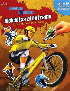 CALCOMANIAS DIVERTIDAS: BICICLETAS AL EXTREMO