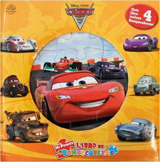 CARS 2 (LIBRO CON 4 ROMPECABEZAS)