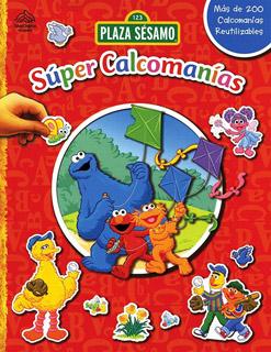 SUPER CALCOMANIAS: PLAZA SESAMO