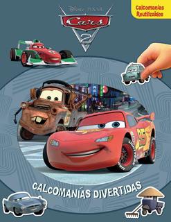 CALCOMANIAS DIVERTIDAS: CARS 2