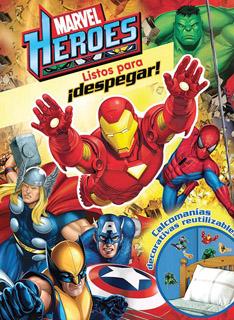 MARVEL HEROES: LISTOS PARA DESPEGAR