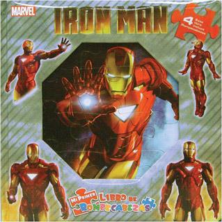 IRON MAN (LIBRO CON 4 ROMPECABEZAS)
