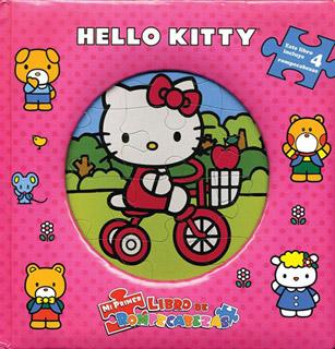 HELLO KITTY (LIBRO CON 4 ROMPECABEZAS)
