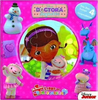 DOCTORA JUGUETES (LIBRO CON 4 ROMPECABEZAS)