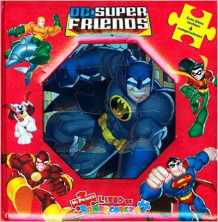 DC SUPER FRIENDS (LIBRO CON 4 ROMPECABEZAS)