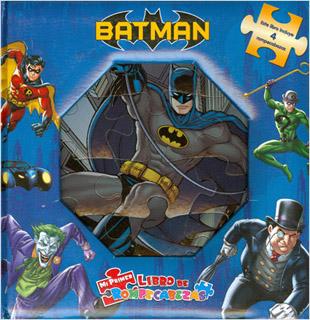 BATMAN (LIBRO CON 4 ROMPECABEZAS)