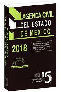 AGENDA CIVIL DEL ESTADO DE MEXICO 2018 (CODIGO)