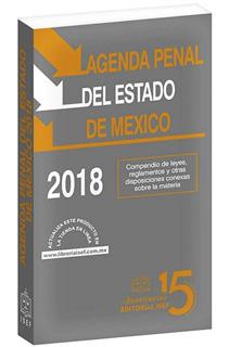 AGENDA PENAL DEL ESTADO DE MEXICO 2018 (CODIGO)