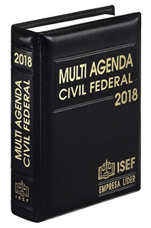 MULTI AGENDA CIVIL FEDERAL 2018 (LINEA EJECUTIVA)