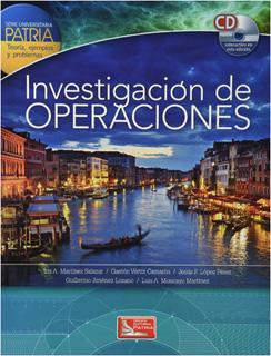 INVESTIGACIÓN DE OPERACIONES (INCLUYE CD)