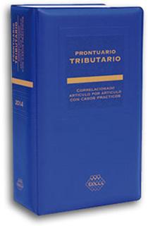 2014 PRONTUARIO TRIBUTARIO ACADEMICO