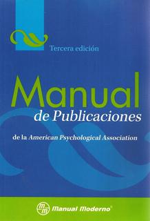 MANUAL DE PUBLICACIONES DE LA (APA) AMERICAN...