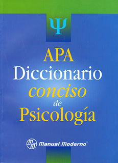 DICCIONARIO CONCISO DE PSICOLOGIA