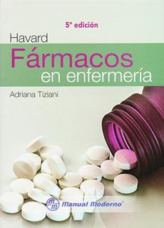 HAVARD: FARMACOS EN ENFERMERIA