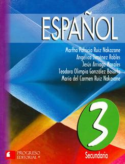 ESPAÑOL 3 SECUNDARIA