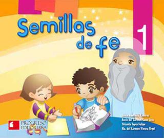 SEMILLAS DE FE 1 PREESCOLAR (INCLUYE CD)