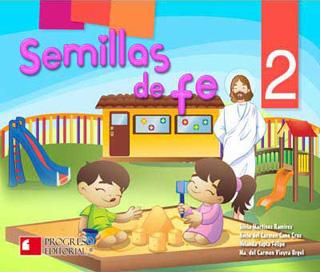 SEMILLAS DE FE 2 PREESCOLAR (INCLUYE CD)