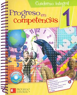 PROGRESO EN COMPETENCIAS 1 CUADERNO INTEGRAL...
