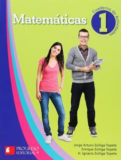 MATEMATICAS 1 CUADERNO DE ACTIVIDADES (PROGRESO...