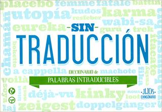 SIN TRADUCCION: DICCIONARIO DE PALABRAS...
