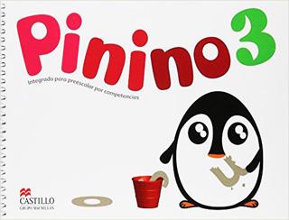 PININO 3: INTEGRADO PARA PREESCOLAR POR...