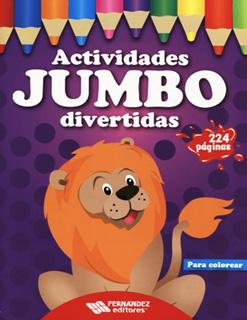 ACTIVIDADES JUMBO DIVERTIDAS