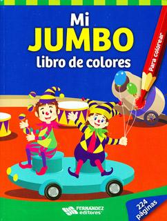 MI JUMBO: LIBRO DE COLORES