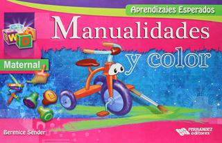 MANUALIDADES Y COLOR MATERNAL (APRENDIZAJES ESPERADOS)