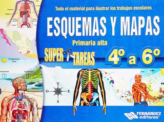 ESQUEMAS Y MAPAS SUPER TAREAS 4º A 6º PRIMARIA...