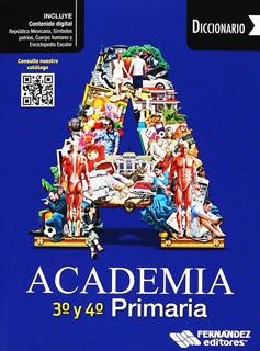 DICCIONARIO ACADEMIA 3 Y 4 PRIMARIA