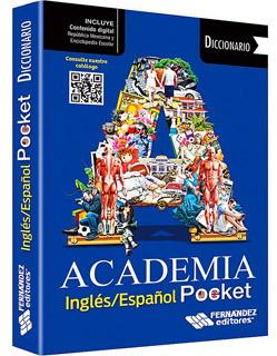 DICCIONARIO ACADEMIA POCKET ENGLISH-SPANISH, ESPAÑOL-INGLES