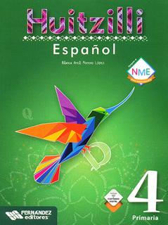 ESPAÑOL 4 PRIMARIA HUITZILLI (INCLUYE CD)