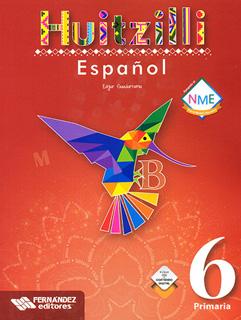 ESPAÑOL 6 PRIMARIA HUITZILLI (INCLUYE CD)