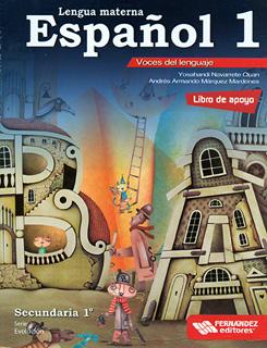 LENGUA MATERNA ESPAÑOL 1 SECUNDARIA